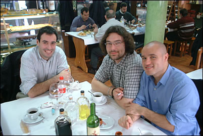 Pablo, Edu y Zapa